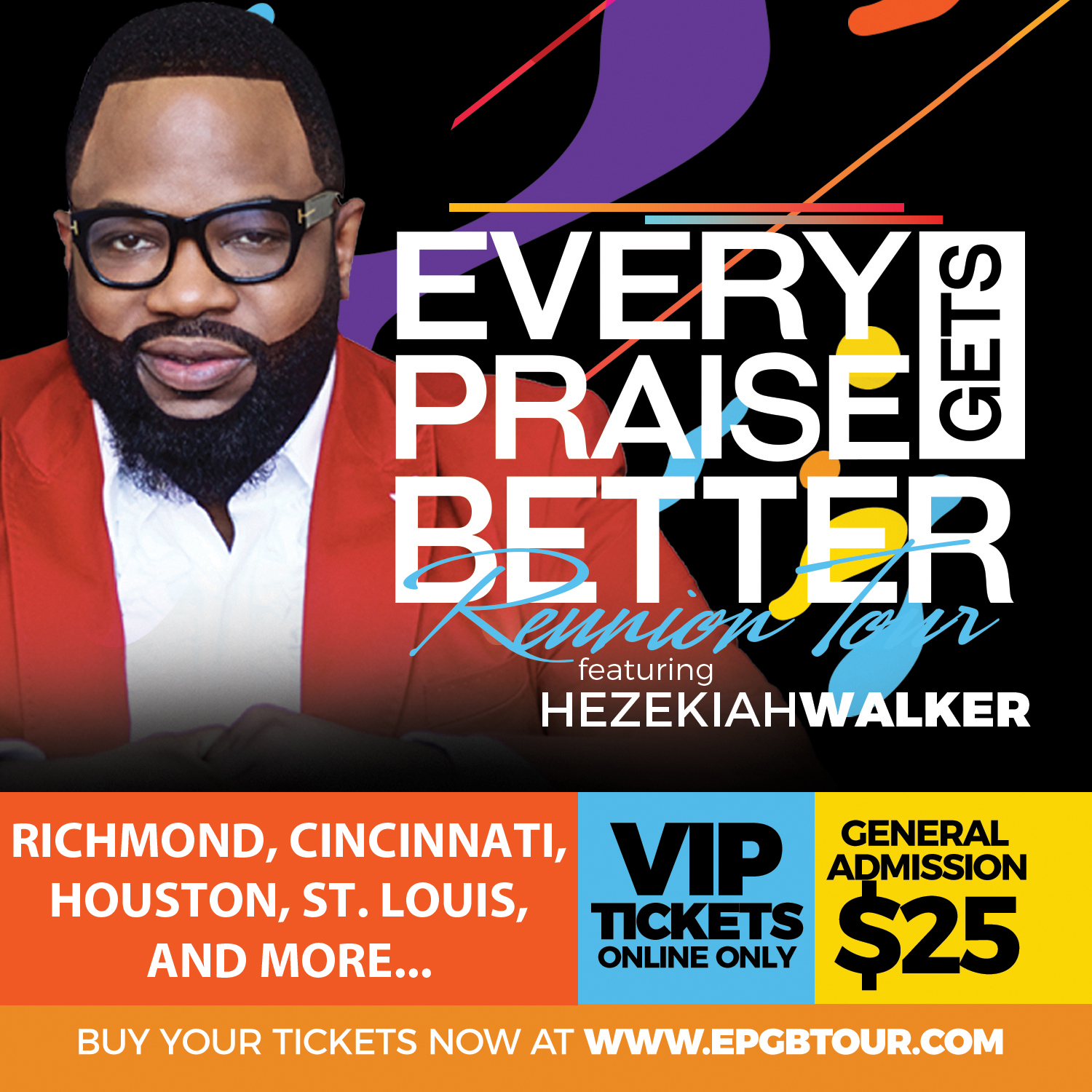 Hezekiah Walker and Israel Houghton Reunion Tour